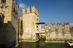 Scaliger Castle, Sirmione, Italy Royalty Free Stock Photography