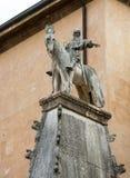 Scaliger gravvalv, en grupp av fem gotiska begravnings- monument som firar den Scaliger familjen i Verona Royaltyfri Bild