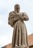 Scaliger gravvalv, en grupp av fem gotiska begravnings- monument som firar den Scaliger familjen i Verona Royaltyfria Foton