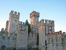 Scaligers castle. Sirmione, Italy Royalty Free Stock Photography