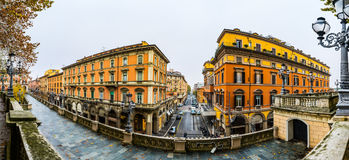 Scalinata Del Pincio στη Μπολόνια, Ιταλία Στοκ εικόνα με δικαίωμα ελεύθερης χρήσης