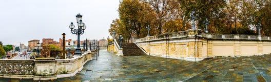Scalinata Del Pincio in Bologna, Italy Stock Images