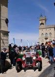 Scalise en Claramunt bij 2012 1000 Miglia Stock Foto's