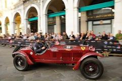 Scalise und Claramunt an den 2012 1000 Miglia Stockfotos