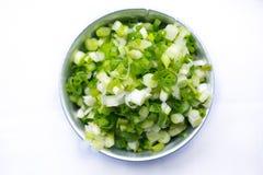 Scallion, тайский пищевой ингредиент Стоковые Изображения