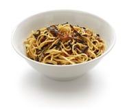 Scallion nafciani kluski, chińczyka Szanghaj jedzenie fotografia stock