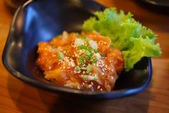 Scallop в соусе Kimchi Стоковые Изображения