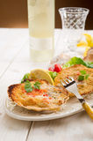 Scallop au gratin Royalty Free Stock Photos