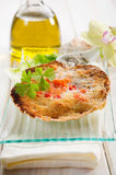 Scallop au gratin Stock Photos