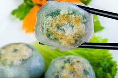Scallop and Chive Dumpling Dim Sum Stock Photos