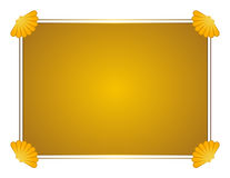 Scallop Cornered Frame Royalty Free Stock Photo