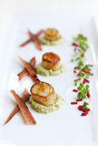 Scallop dish Royalty Free Stock Photo