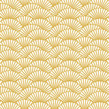Scallop pattern repeat background Royalty Free Stock Photo