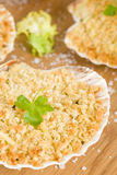 Scallop & Prawn Gratin Stock Images