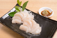 Scallop for sashimi - japanese food style. Scallop for sashimi - japanese food style Stock Photos