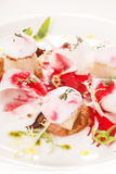 Scallop seafood appetizer Royalty Free Stock Photo