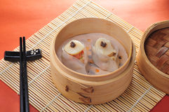 Free Scallop Shumai Dim Sum Royalty Free Stock Images - 34921829