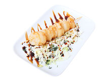 Scallop skewer Royalty Free Stock Photos