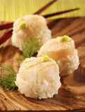 Scallop sushis Royalty Free Stock Photo