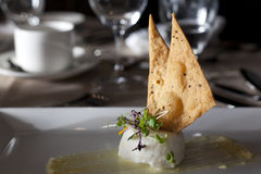 Scallop Timbale with  Stock Images