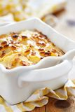 Scalloped potatoes Stock Image