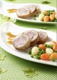 scallopini свинины Стоковые Изображения RF