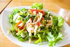 Scallops Thai Spicy Salad Royalty Free Stock Photos