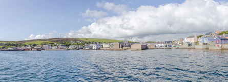 Scalloway harbour Royalty Free Stock Photos