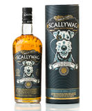 Scallywag scotch whisky. Scallywag scotch blended whisky with box Stock Image