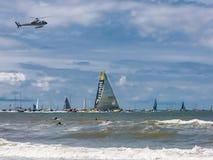 Scalo L'aia, Paesi Bassi della corsa dell'oceano di Volvo Immagini Stock Libere da Diritti