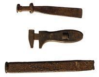 Scalpelli e strumenti delle pinze Immagine Stock Libera da Diritti