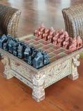 scalpture шахмат от bagan Бирмы стоковые фотографии rf