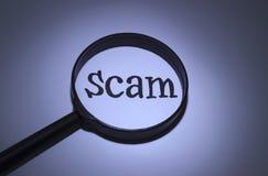 scam Royalty-vrije Stock Foto's