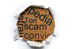 Scam concept Stock Photo