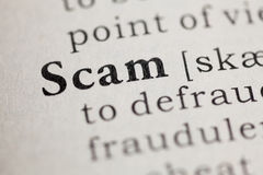 Scam Stock Photography