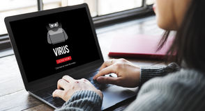Scam Virus Spyware Malware Antivirus Concept Royalty Free Stock Photography