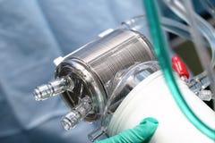 Scambiatore di calore del bypa cardiopolmonare Fotografie Stock Libere da Diritti