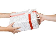 Scambio di regalo Immagini Stock
