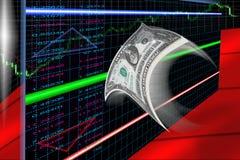 Scambio di valuta Immagine Stock