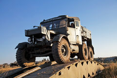 Scammel truck Royalty Free Stock Photography