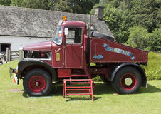 Scammell Truck Fun Fair Side View stock image