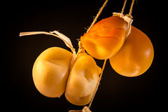 Scamorza Cheese Royalty Free Stock Photos