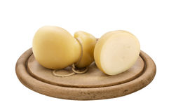 Scamorza, italian cheese Stock Image