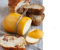 Scamorza, queijo fumado italiano típico foto de stock