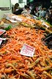 scampi рыбного базара Стоковое Изображение
