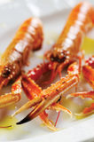 Scampi crabs Royalty Free Stock Photos