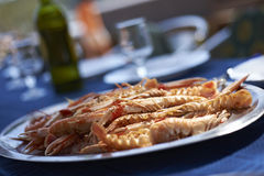 Scampi crabs Stock Image