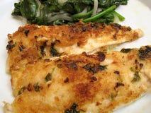 scampi flounder Стоковые Фотографии RF