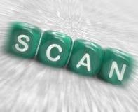 Scan Dice Displays Browse Or Flip Through Royalty Free Stock Photos