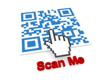Scan me Stock Photo